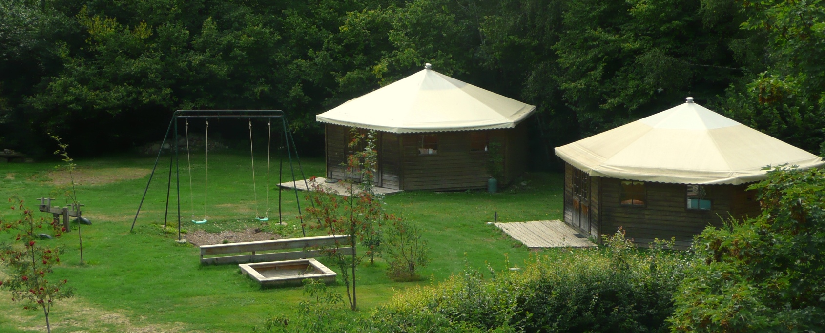 Wooden Yurts
